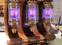 clock nixie tube latern