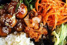 Healthy Korean foods