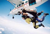 Coastal Skydive / People jump out of planes for all sorts of reasons, milestones, team building, facing their fears. There's nothing quite like it that's for sure. You've come this far, come and take the plunge with us!