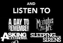 My favorite bands  / Every lyrics and band stoff from my favorite band