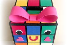 V day boxes