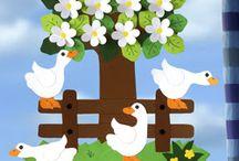Dekoracje wiosna