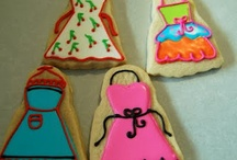 Aprons/Chef -  Cookies and cakes