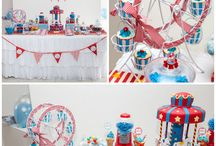 Luna Park & Circus Party Ideas