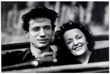 Edith Piaf & Yves Montand