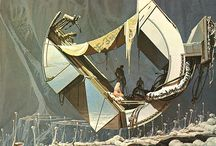 Syd Mead Sketches