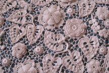 Irish crochet-dentelle d'Irlande