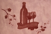 Painting with Red Wine!!! / by Gratia Costin
