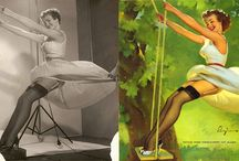 Pin Up Girls / Pin up poses, style, tips