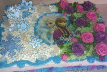 Frozen themed cakes / by Cindi Focht