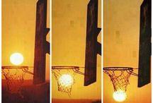 evryone play basketball
