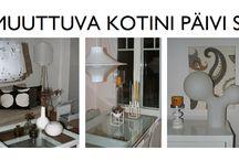 Blogini muuttuvakotini.blogspot.com / Sisustuskuvia kodistani eri vuodenaikoina <3
