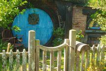 Hobbit & fairy garden