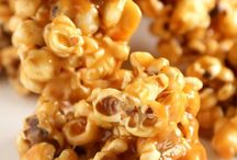 Food: Popcorn Recipes/Ideas / Popcorn recipes and ideas for popcorn related treats. / by Grinning Like An Idiot