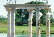 Landscaping Stone / Cast Stone for landscaping and outdoor uses, like pools, fountains and gazebos.