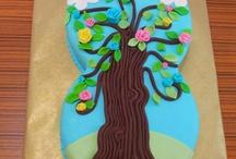 Sekerhamurlu pasta ve kurabiye ornekleri / Sugar/gum cake and cookies / Cake