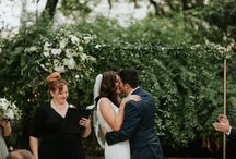 Ginny + Mando, Featured Wedding at Allan House