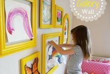 Kids decor art room ideas