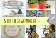 Gifts To Warm The House / A collection of great Housewarming gifts. DIY or found around the net. Make the gift personal.