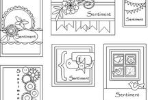 Sketches - Cartões