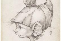 Elfs Sprite and pixies