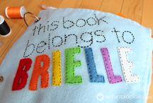 quiet book ideas for Marnie
