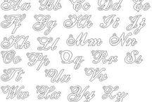 As melhores formas de letras