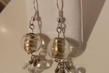 Earrings (made by me) / Bilder av øredobber jeg har laget.