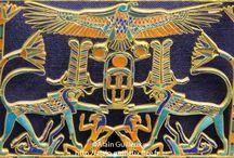 egyptian art déco