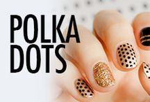 Polka Dots Nail Art & Nail Designs