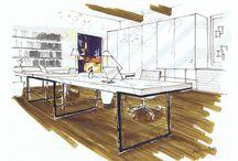 Interior Design- Illustration concept