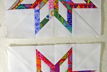 Quilt paper piecing / Quilting