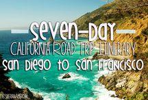 California Bike Trip