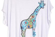 Giraffe tee!!