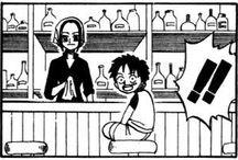 One Piece Manga References
