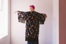 Brooke Barrett | Velvet Kimono