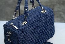 Вязаные сумки