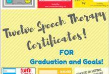 Speech certificates & Speech graduation
