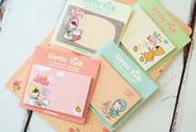 Sticky Notes / cute kawaii cartoon sticky memo note pads