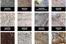 Granit / Granitul este o rocă magmatică masivă, conținând în principal cuarț  sau minerale de culoare închisă.  Culoarea granitului variază de la cenușiu deschis până la albăstrui, roșu, galben.   Granitul este folosit în construcții la: acoperirea pereților clădirilor cu plăci de granit, la ferestre și uși;  în grădini la fântâni, sau pavaj