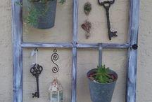 porticones y ventanas