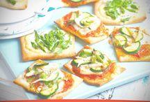 Receta de Minipizzas de verdura para 4 personas