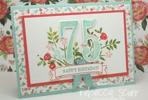 Stampin' Up - Large Numbers & Number of Years