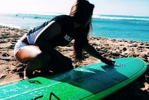 surf and sup / by Sara Kirsch
