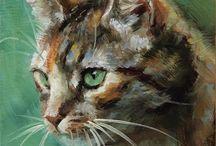 Katter og dyr