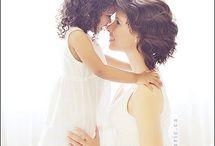 Фото с дочкой