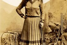 Annie Oakley / Annie Oakley (born Phoebe Ann Mosey; August 13, 1860 – November 3, 1926) was an American sharpshooter and exhibition shooter. I have always been fascinated by her.