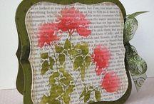 One Stamp - Hero Arts - Silhouette Meadow Flowers