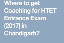 Where to get Coaching for HTET Entrance Exam (2017) in Chandigarh?