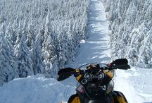 Snowmobiling in the Kennebec Valley